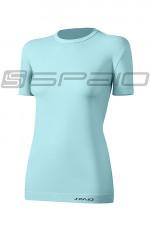 Spaio T-Shirt Relieve Damska W01 Krótki rękaw mint
