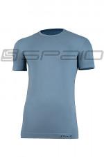 Spaio T-Shirt Relieve Męska W01 Krótki rękaw grey