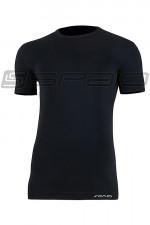 Spaio T-Shirt Relieve Męska W01 Krótki rękaw black