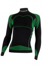 Spaio Thermo Line Damska D/R W03 Długi rękaw black/green