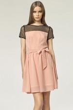 Nife S44 sukienka róż