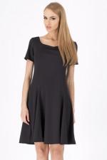 Makadamia M103 sukienka czarny