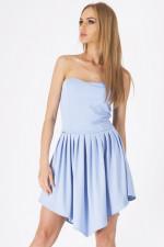 Makadamia M104 sukienka błękit