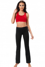 gWINNER Straight Leg Training Pants Nair długie black