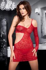 Tessoro 242 Carmine Lady koszulka+stringi czerwony