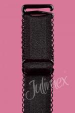 Julimex RB 407 ramiączka czarny