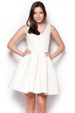 Figl 344 sukienka ecri
