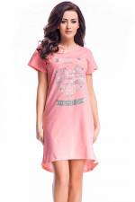 Dobranocka TM.7011 koszula sweet pink