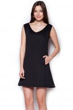 Figl 349 sukienka czarny