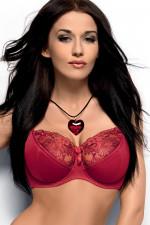 Gorsenia K036 Valentina miękki czerwony