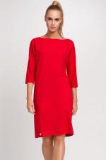 Makadamia M236 sukienka czerwony