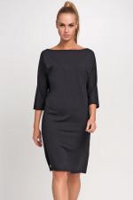 Makadamia M236 sukienka czarny