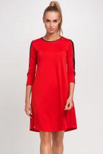 Makadamia M237 sukienka czerwony