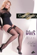 Gabriella Calze 15 DEN Plus Size code 164 Klasyczne nero