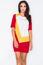 Figl 118 sukienka czerwony
