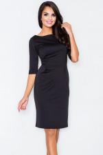Figl 202 sukienka czarny