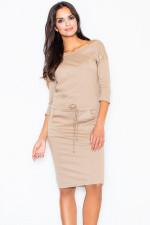 Figl 203 sukienka beż