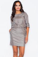 Figl 360 sukienka szary