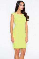 Figl 378 sukienka limonka