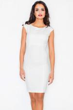 Figl 378 sukienka ecru