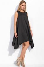 Makadamia M285 sukienka czarny