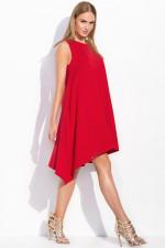 Makadamia M285 sukienka czerwony