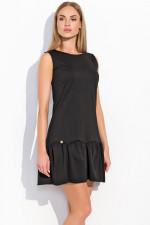 Makadamia M289 sukienka czarny