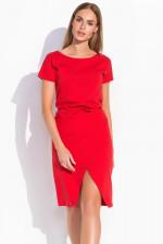 Makadamia M293 sukienka czerwony