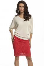 Ennywear 210039 Spódnica czerwony