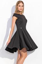 Makadamia M296 sukienka czarny