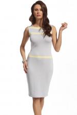 Ennywear 210087 sukienka jasny szary
