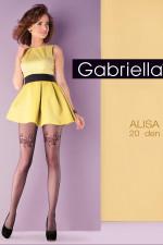 Gabriella Alisa code 651 Wzorzyste nero