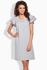 Lemoniade L137 sukienka jasny szary