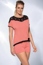 Ava PJ-17 piżama apricot