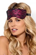 Obsessive Roseberry mask opaska czarno-różowy