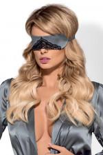 Obsessive Satinia mask grey opaska grey