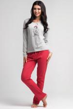 Rossli SAL-PY 1021 piżama jasny szary