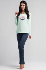 Rossli SAL-PY 1022 piżama miętowy