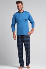 Rossli SAM-PY 051 piżama niebieski/granat