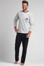 Rossli SAM-PY 064 piżama szary melanż