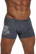 Cornette Tattoo Mini Thunder bokserki jeans