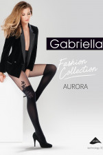 Gabriella Aurora code 370 Wzorzyste nero