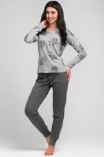 Rossli SAL-PY 1034 piżama jasny szary
