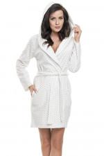 Dn-nightwear SWD.9071 szlafrok ecru