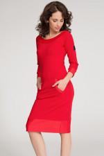 Numinou NU26 sukienka czerwony