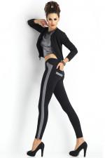 Trendy Legs Plush Emma Klasyczne czarny