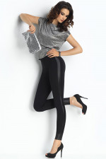Trendy Legs Plush Kama Klasyczne czarny