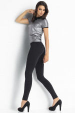 Trendy Legs Plush Paola Klasyczne czarny