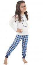 Italian Fashion Aurelia Dz. dł. r. dł. sp. piżama ecru