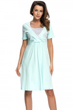 Dn-nightwear TCB.3049 koszula light mint